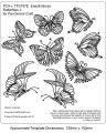 EMBOSSING Easy Emboss Butterflies 2